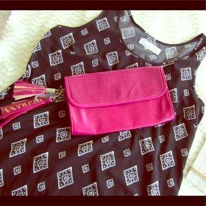 Pink Merona Clutch